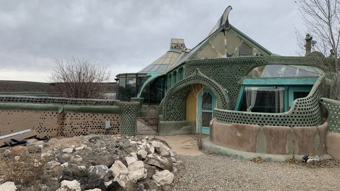 Our stay at an Earthship in New Mexico